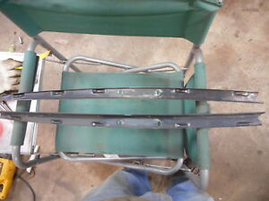 Opel Gt Driver And Passenger Side Door Top Rail For Window Channel 1969 1973