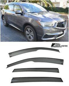 For 14 up Acura Mdx Jdm Mugen Style Side Window Visors Rain Guard Deflectors Eos
