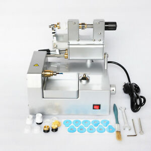 Gl 220v Optical Lens Cutter Eyeglass Cutting Milling Machine Optometry Equipment