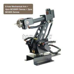6 axis Robot Arm Robotic Arm Industrial Mechanical Arm With Servos Topsky