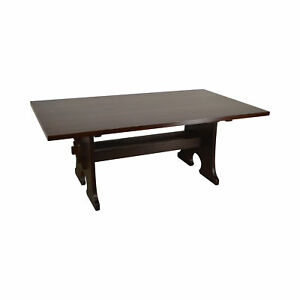 Stickley Mission Oak Mouse Hole Eastwood Dining Table