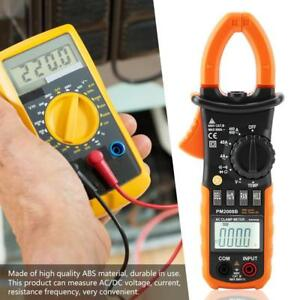Peakmeter Pm2008b Auto Range Voltage Current Digital Clamp Multimeter New