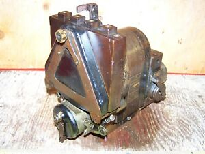 Old Berling Type D Curtiss Airplane Brass Magneto Hit Miss Gas Engine Steam Hot