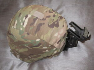 Warrior Helmet SDS Medium with NVG mount and multi cam cover ACH MICH