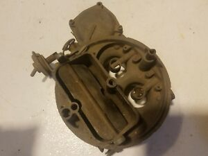 Holley Carburetor Parts Used Center Section Lot 4 Barrel 4150