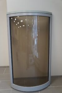 37 1 4 w X 64 h Office Partition Panel With Curved Window Steelcase