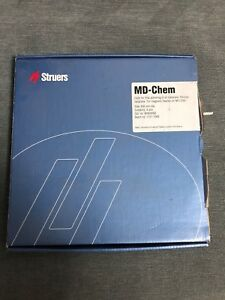 Struers Md chem 200 Mm Cloth For Final Polishing All Materials 5 Pcs Box