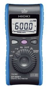 Hioki Digital Multi Meter Dt4221 Made In Japan