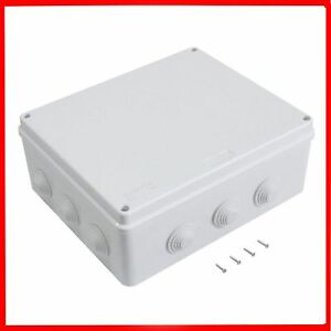 Junction Box Waterproof Electrical Enclosure Plastic Outdoor Cable Cover Case Ce