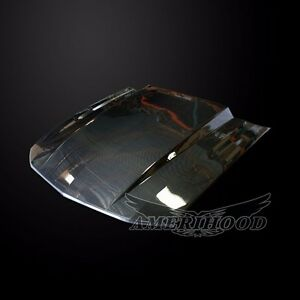 2005 2009 Ford Mustang Cowl 3 Inch Carbon Fiber Functional Ram Air Cooling Hood