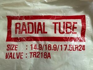 One New Tractor Trailer Truck Radial Tube 14 9 16 9 17 5lr24 Valve Tr218a Tire