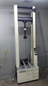 Tensile Testing Machine 22 500 Lbs W Grips Extensometers