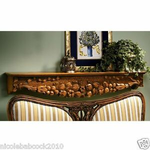 47 5 Fire Place Mantels And Pediments Walls Doors Hand Carved Solid Hardwood