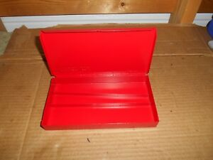 Vintage Metal Snap On Box 7 7 8 X 4 3 16 X 1 super Fast Shipping