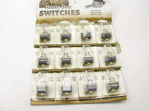 12 Pack Mico 02 760 007 Heavy Duty Universal Toggle Switch 2 Terminal