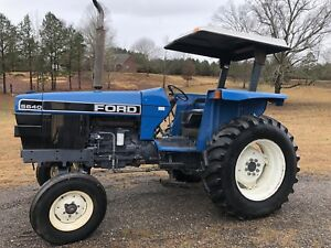Ford 5640 Clean Respectable Tractor Remote Hydraulics Rops W Canopy