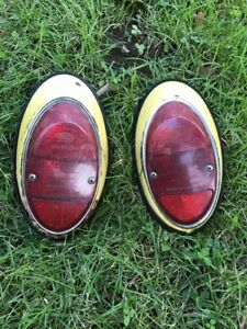 1962 1967 Volkswagen Vw Bug Beetle Hella Tail Lights