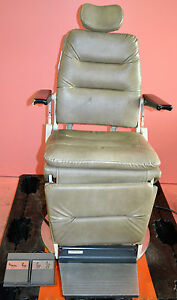 Reliance 980 Ent Power Exam Chair Wih Foot Switch Works
