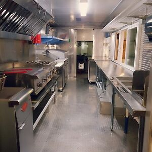 Food Truck For Sale Brand New Kitchen