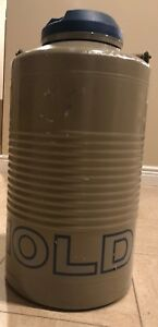 Taylor Wharton 10ld Liquid Nitrogen Container 10 Liters Good Condition