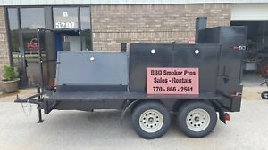 Bigfoot Bbq Smoker Grill Trailer Sink Food Truck Mobile Catering Concession Cart