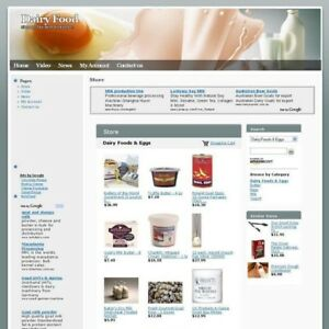 Established Daily Food Store Online Business Website For Sale Free Domain Name