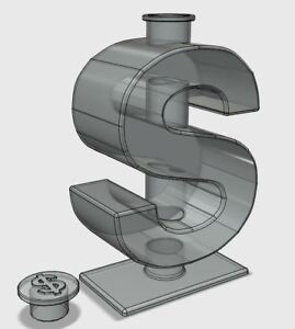 U s Design Patent Bottle Shaped Like A Dollar Sign