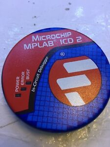 Microchip Mplab Icd 2 In circuit Debugger 9vdc 750 Ma 10 00319 R23