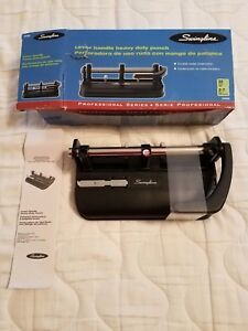 Swingline 2 7 Hole Heavy Duty Punch 74350 Up To 32 Sheets Brand New