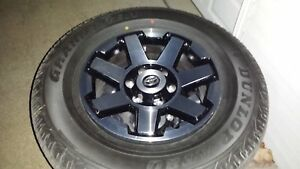 4 17 2019 Toyota 4runner Trd Oem Factory Wheels With Black Rims Caps And Tires