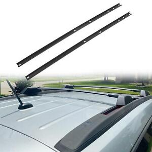 Fit 2009 2017 Chevrolet Traverse Roof Rack Side Cross Bar Rail Luggage Cargo