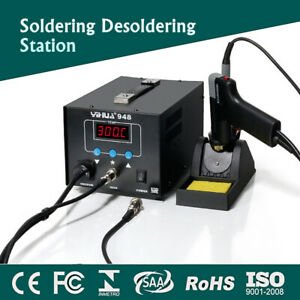 220v Electric Digital Soldering Iron Handle Desoldering Station Weller