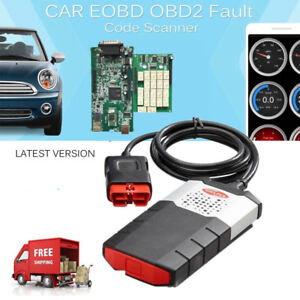 Vci Obd2 Diagnostic Scanner Kits Odb2 Cars Trucks Cd Software 8pcs Car Cables