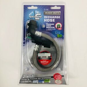 Avl402sv Auto Air Conditioning Recharge Hose For R134 Systems Avalange Ac