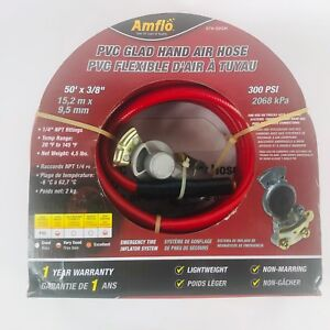 Amf574 50 Gh Hd Air Hose 50 With Glad Hand And Tire Air Chuck By Amflo