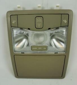 2005 2008 Toyota Avalon Overhead Console With Sunroof Storage And Map Lights