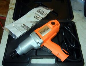 Chicago Electric 1 2 Electric Impact Wrench