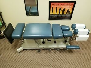 Chattanooga Spinalator Hi Low Chiropractic Adjusting Table Full Drops