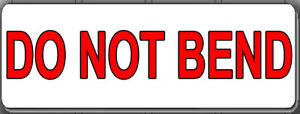 30 60 90 300 1500 Do Not Bend Shipping Labels Stickers 1 X 2 625 For Ups Usps