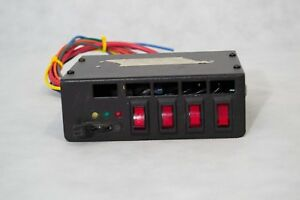 Federal Signal Switch Box W New Labels