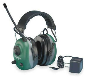Elvex Com660r Quiet Tunes Rechargeable Ear Muffs With Am fm Radio