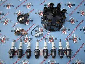 1953 1954 1955 1956 Buick V 8 Ignition Tune Up Kit With Delco Spark Plugs