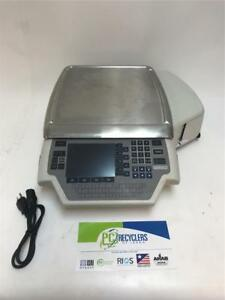 Hobart Quantum Ml 29032 bj Commercial Deli Scale W label Printer Tested