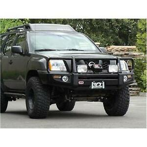 Arb 4x4 Accessories Black Xterra Deluxe Bull Bar Winch Mount Bumper 3438270