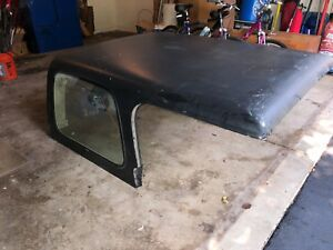 Black 1995 Jeep Wrangler Factory Hardtop Needs Back Window Fits 91 95
