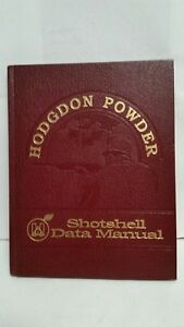 Hodgdon Powder Shotshell Data Manual 1st Edition Don Lutz EXCELLENT condition