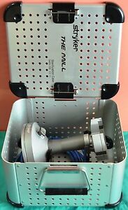 Stryker 5400 700 The Mill Bone Mill With Sterilization Case Tested
