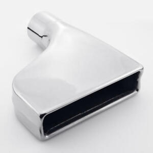 Rectangle 7 87 W Out Offset 2 5 Inlet Exhaust Tip Stainless Steel Camaro Style