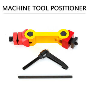 Universal Milling Machine Positioning Fixture Work Stop Locator Tool Adjustable