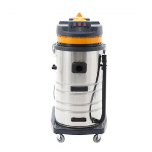 Glf 220v 3000w 80l Vac Industrial Vacuum Cleaner Wet Dry Blower Stainless Steel